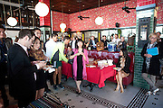 Brunch to celebrate the launch of Art HK 11. Miss Yip Chinese Cafe. Meridian ave,  Miami Beach. 3 December 2010. -DO NOT ARCHIVE-© Copyright Photograph by Dafydd Jones. 248 Clapham Rd. London SW9 0PZ. Tel 0207 820 0771. www.dafjones.com.