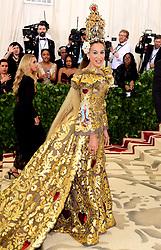 Sarah Jessica Parker attending the Metropolitan Museum of Art Costume Institute Benefit Gala 2018 in New York, USA