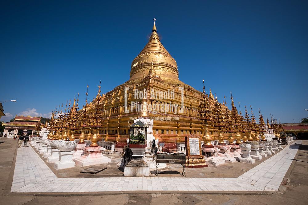 The Shwezigon Pagoda, Nyaung-U.