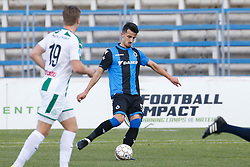 January 10, 2018 - Marbella, SPAIN - Club's Erhan Masovic pictured in action during a friendly soccer game between Belgian team Club Brugge KV and Dutch club FC Groningen on day seven of Brugge's winter training camp in Marbella, Spain, Wednesday 10 January 2018. BELGA PHOTO BRUNO FAHY (Credit Image: © Bruno Fahy/Belga via ZUMA Press)