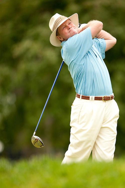 Tom Kite. 2009 Senior PGA Championship, Round 2. Photographed at Canterbury Golf Club in Beachwood, Ohio on Friday, May 22 2009. Photograph © 2009 Darren Carroll