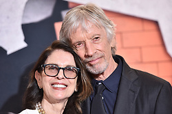 (L-R) Carol Schwartz and actor Scott Glenn attend the 'Marvel's The Defenders' New York Premiere at Tribeca Performing Arts Center in New York, NY, on on July 31, 2017. (Photo by Anthony Behar) *** Please Use Credit from Credit Field ***