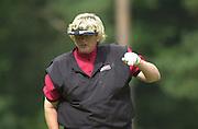 2001 Weetabix Women's British Open, Sunningdale Golf Course, Berks, Great Britain<br />  <br /> [Mandatory Credit Peter Spurrier/Intersport Images]<br /> <br /> Friday 3rd August 2001<br /> Weetabix Women's British Open<br /> <br /> England's, Laura Davies