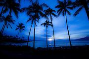 Sunset, Kapalua Beach, Maui, Hawaii