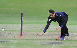 Jack Taylor of Gloucestershire  - Photo mandatory by-line: Dougie Allward/JMP - Mobile: 07966 386802 - 14/07/2015 - SPORT - Cricket - Cheltenham - Cheltenham College - Natwest T20 Blast