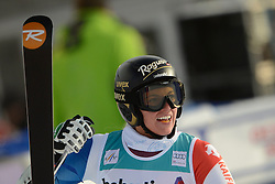 09.12.2012, Engiadina Rennstrecke, St. Moritz, SUI, FIS Ski Alpin Weltcup, Riesenslalom, Damen, 2. Lauf, im Bild Lara Gut (SUI) im Ziel reacts // after her 2nd run of ladies Super G of FIS ski alpine world cup at the Engiadina course, St. Moritz, Switzerland on 2012/12/09. EXPA Pictures © 2012, PhotoCredit: EXPA/ Freshfocus/ Andreas Meier..***** ATTENTION - for AUT, SLO, CRO, SRB, BIH only *****
