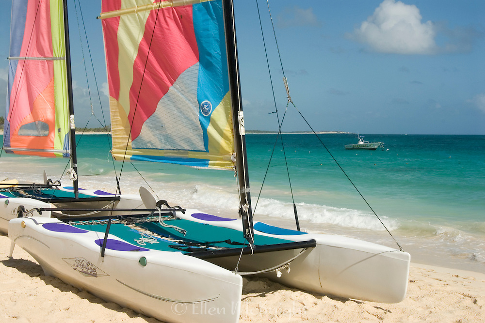 Catamarans on the Beach in Punta Cana