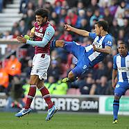 Wigan Athletic v West Ham United 271012