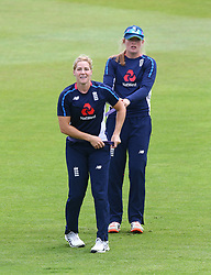 June 15, 2018 - Canterbury, England, United Kingdom - Katherine Brunt of England Women.during Women's One Day International Series match between England Women against South Africa Women at The Spitfire Ground, St Lawrence, Canterbury, on 15 June 2018  (Credit Image: © Kieran Galvin/NurPhoto via ZUMA Press)