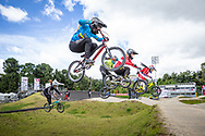 2021 UCI BMXSX World Cup<br /> Round 3 and 4 at Bogota (Colombia)<br /> ^we#200 HOWELL, Shanayah (ARU, WE) <br /> ^we#206 OSPINA MARTINEZ, Sofia (COL, WE)