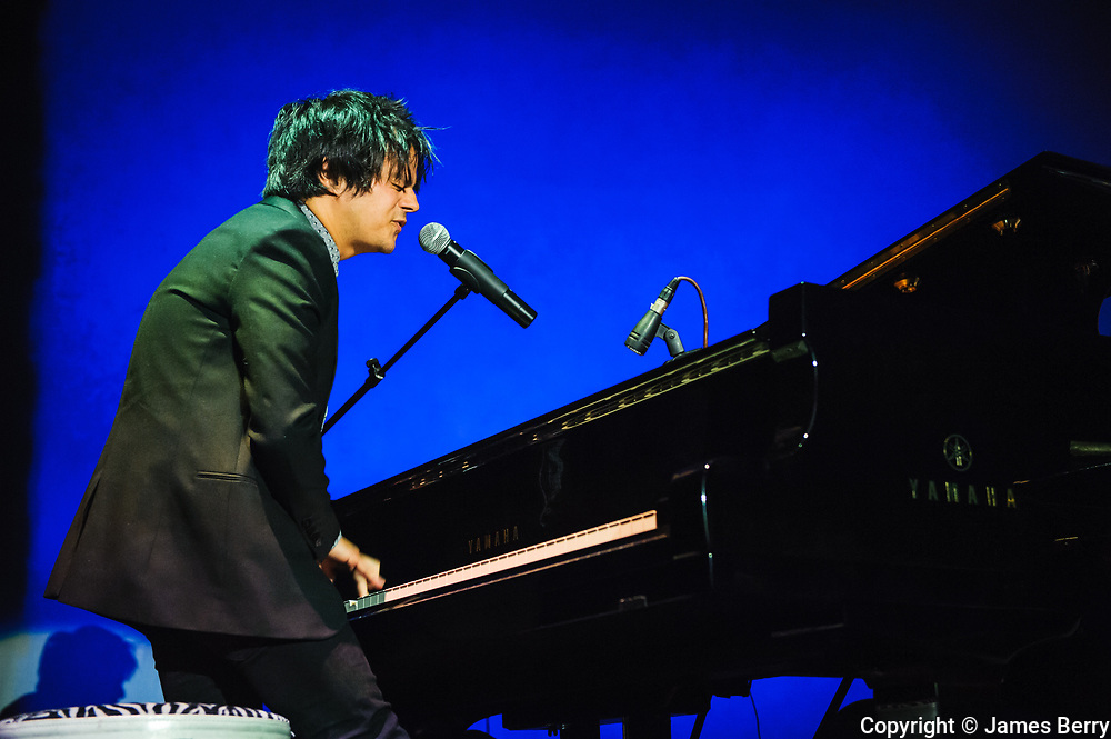 Jamie Cullum performing live at The Roundhouse, Camden, on 22 October 2013.