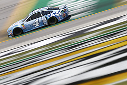 July 13, 2018 - Sparta, Kentucky, United States of America - Kevin Harvick (4) brings his race car down the front stretch during practice for the Quaker State 400 at Kentucky Speedway in Sparta, Kentucky. (Credit Image: © Chris Owens Asp Inc/ASP via ZUMA Wire)