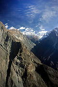 Peaks and valleys of Karokoram Mountains, Skardu Valley, North Pakistan