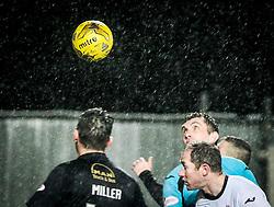 Dumbarton's Mark Brown. <br /> Falkirk 1 v 0 Dumbarton, Scottish Championship game played 26/12/2015 at The Falkirk Stadium.