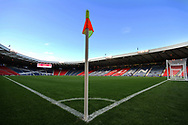 GV before the Friendly international match between Scotland and Portugal at Hampden Park, Glasgow, United Kingdom on 14 October 2018.