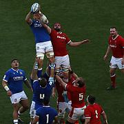 Roma 13/03/2021, Stadio Olimpico<br /> Guinness Six Nations 2021<br /> Italia vs Galles<br /> <br /> Johan Meyer
