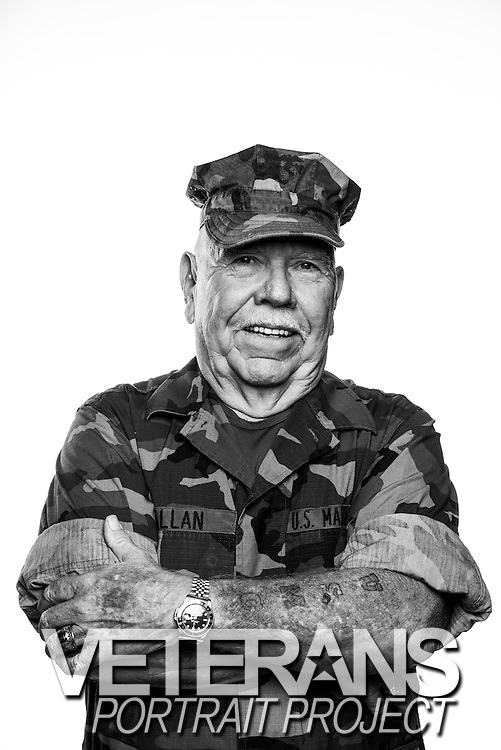 Dave Allan<br /> Marine Corps<br /> E-5<br /> Communications<br /> 07/17/61 - 07/16/67<br /> Vietnam War<br /> <br /> <br /> Model Release: Yes<br /> Photo by: Stacy L. Pearsall