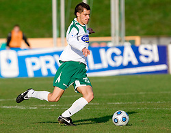 Miroslav Cvijanovic of Olimpija  at 18th Round of PrvaLiga football match between NK Olimpija and NK Labod Drava, on November 21, 2009, in ZAK, Ljubljana, Slovenia. Olimpija defeated Drava 3:0. (Photo by Vid Ponikvar / Sportida)