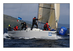 Brewin Dolphin Scottish Series 2011, Tarbert Loch Fyne - Yachting - Day 2 of the 4 day series. Windy!..GBR1433R ,Salamander XX ,John Corson ,CCC ,Corby 33..