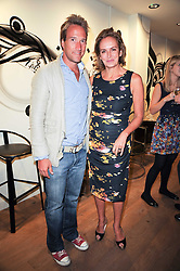 BEN FOGLE and CAROLINE MICHEL at a party to celebrate the publication of Born Wild by Tony Fitzjohn at The Arts Club, Dover Street, London on 16th September 2010.