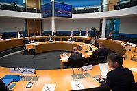 DEU, Deutschland, Germany, Berlin, 26.10.2020: Deutscher Bundestag, Sitzung des Wirtschaftsausschusses.