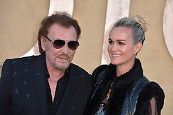 File photo : Johnny Hallyday and Laeticia Hallyday attend the Christian Dior Cruise 2018 on May 11th, 2017 in Calabasas, California. France's biggest rock star Johnny Hallyday has died from lung cancer, his wife says. He was 74. The singer - real name Jean-Philippe Smet - sold about 100 million records and starred in a number of films. Photo by ABACAPRESS.COM