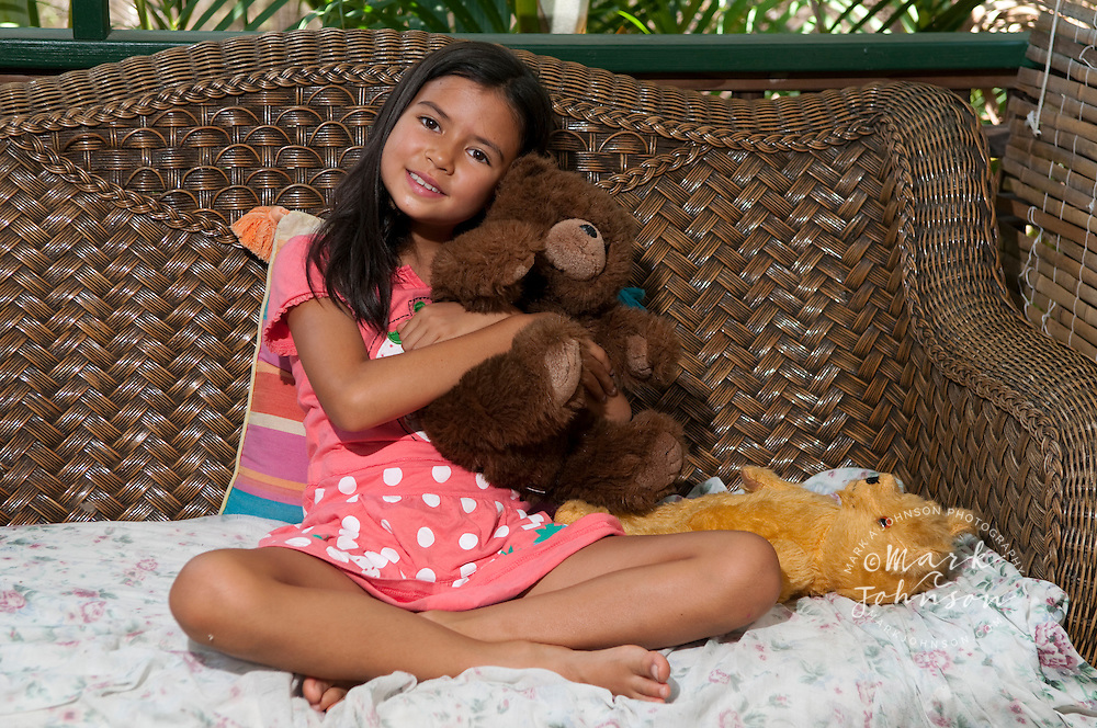 Portrait of young Asian-Australian girl, Queensland, Australia ****Model Release available