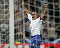 Glasgow, Scotland 3-9-05<br /> World Cup 2006 qualifing match<br /> Scotland-Italy<br /> nella  foto Fabio cannavaro<br /> Foto Snapshot / Graffiti