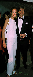 LADY VICTORIA HERVEYand MR MOGENS THOLSTRUP, at a reception in London on 7th June 1997.LZA 91 2OLO