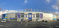 General view outside the Cardiff City Stadium ahead of the Premier League match between Cardiff City and Manchester United at the Cardiff City Stadium, Cardiff, Wales on 22 December 2018.