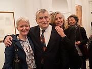 MARIA BALSHAW, SIR NORMAN ROSENTHAL, ANITA ZABLUDOWICZ, Joseph Beuys, Galerie Thaddaeus Ropac, Ely House, Dover Street, London. 17 April 2018