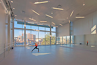 Cultural Arts Photography of Dancer in Studio at Performing Arts Center By Maryland Commercial Photographer Jeffrey Sauers of Commercial Photographics