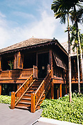 House built in 1889 by East Borneo Company at 137 Pillar's House hotel, Chiang Mai