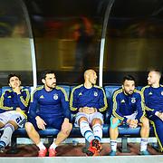 Mersin Idman Yurdu and Fenerbahce's during their Turkish Super League soccer match Mersin Idman Yurdu between Fenerbahce at the Mersin stadium in Mersin Turkey on Saturday 21 November 2015. Photo by TVPN/TURKPIX
