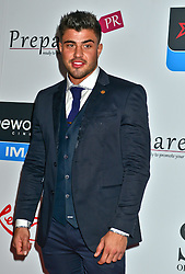Rogan O'Connor, seen at the VIP red carpet screening of Fifty Shades of Grey at the CineWorld Birmingham. EXPA Pictures © 2015, PhotoCredit: EXPA/ Photoshot/ Jules Annan<br /> <br /> *****ATTENTION - for AUT, SLO, CRO, SRB, BIH, MAZ only*****