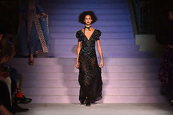 Models on the catwalk during the Temperley Autumn/Winter 2017 London Fashion Week show at Banking Hall, London. PRESS ASSOCIATION Photo. Picture date: Sunday February 19th, 2017. Photo credit should read: Matt Crossick/PA Wire.