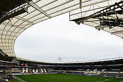 A general view of the KC Stadium before Hull City play Bristol City in the Sky Bet Championship - Mandatory by-line: Dougie Allward/JMP - 02/04/2016 - FOOTBALL - KC Stadium - Hull, England - Hull City v Bristol City - Sky Bet Championship