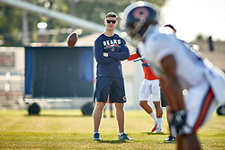 July 28, 2018 - Bourbonnais, IL, U.S. - BOURBONNAIS, IL - JULY 28: Chicago Bears general manager Ryan Pace looks on during the Chicago Bears training camp on July 28, 2018 at Olivet Nazarene University in Bourbonnais, Illinois. (Photo by Robin Alam/Icon Sportswire) (Credit Image: © Robin Alam/Icon SMI via ZUMA Press)
