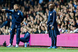 QPR Manager Chris Ramsey looks on - Photo mandatory by-line: Rogan Thomson/JMP - 07966 386802 - 07/04/2015 - SPORT - FOOTBALL - Birmingham, England - Villa Park - Aston Villa v Queens Park Rangers - Barclays Premier League.