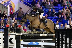 Smolders Harrie, NED, Zinius<br /> Jumping Mechelen 2018<br /> © Hippo Foto - Sharon Vandeput<br /> 30/12/18