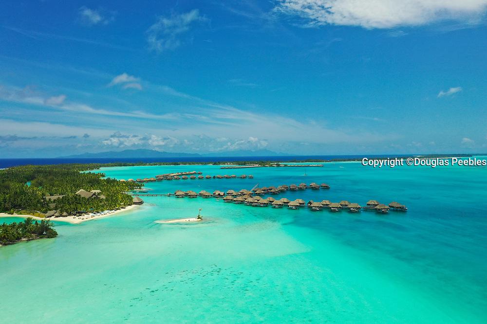 St Regis Bora Bora Resort, Bora Bora, Society Islands, French Polynesia; South Pacific