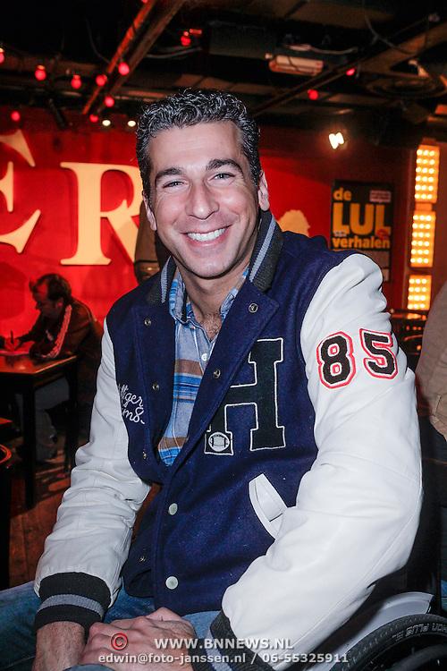 NLD/Amsterdam/20121121 - Presentatie deelnemers comedy avond Lulverhalen, Marc de Hond