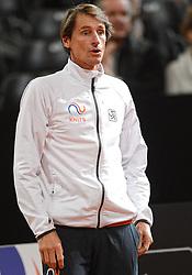 08-02-2015 NED: Fed Cup Nederland - Slowakije, Apeldoorn<br /> Paul Haarhuis