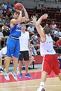 Danzica - Polonia 03 Agosto 2012 - TORNEO INTERNAZIONALE SOPOT CUP - Italia Lettonia<br /> Nella Foto : JEFF VIGGIANO<br /> Foto Ciamillo