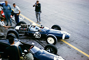 Stirling Moss Lotus-Climax Formula One motor racing Italian Grand Prix, Monza Sept 1961