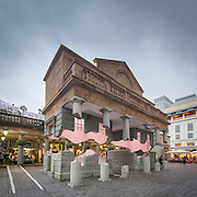 Take my Lightning but Don't Steal my Thunder, artwork by Alex Chinneck, Covent Garden, London. 2014