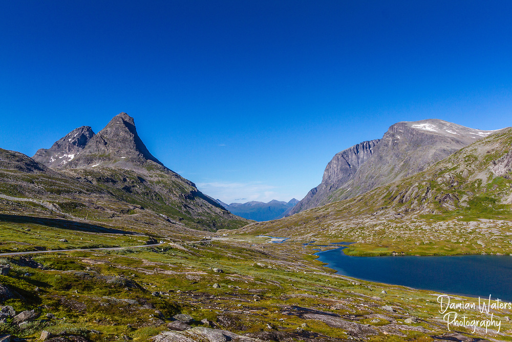 Kongen and Bispen, Trollstigen, Norway - August