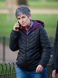 © Licensed to London News Pictures. 15/03/2021. London, UK. Commissioner of the Metropolitan Police CRESSIDA DICK is seen walking to New Scotland Yard in Westminster, London. There have been calls for Met Chief Cressida Dick to resign following after police dragged women away from a bandstand at a vigil for murdered Sarah Everard in Clapham, South London. Photo credit: Ben Cawthra/LNP