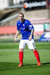Cowdenbeath's Kenneth Adamson. <br /> Dunfermline 7 v 1 Cowdenbeath, SPFL Ladbrokes League Division One game played 15/8/2015 at East End Park.
