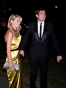 Tess Daly; Vernon Kay, End Of Summer Ball In Berkeley Square. In aid of Prince;s Trust. Berkeley Square, London. 25 September 2008 *** Local Caption *** -DO NOT ARCHIVE-© Copyright Photograph by Dafydd Jones. 248 Clapham Rd. London SW9 0PZ. Tel 0207 820 0771. www.dafjones.com.